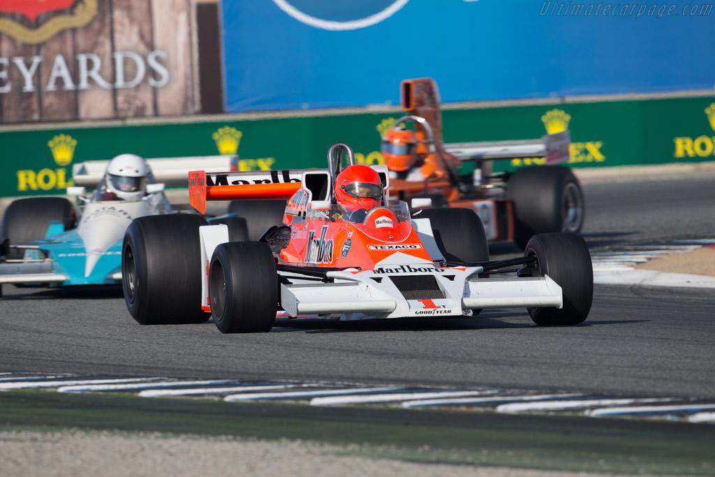 McLaren M26 - Chassis: M26-3 - Entrant: Zak Brown - Driver: Robert Kauffman  - 2015 Monterey Motorsports Reunion