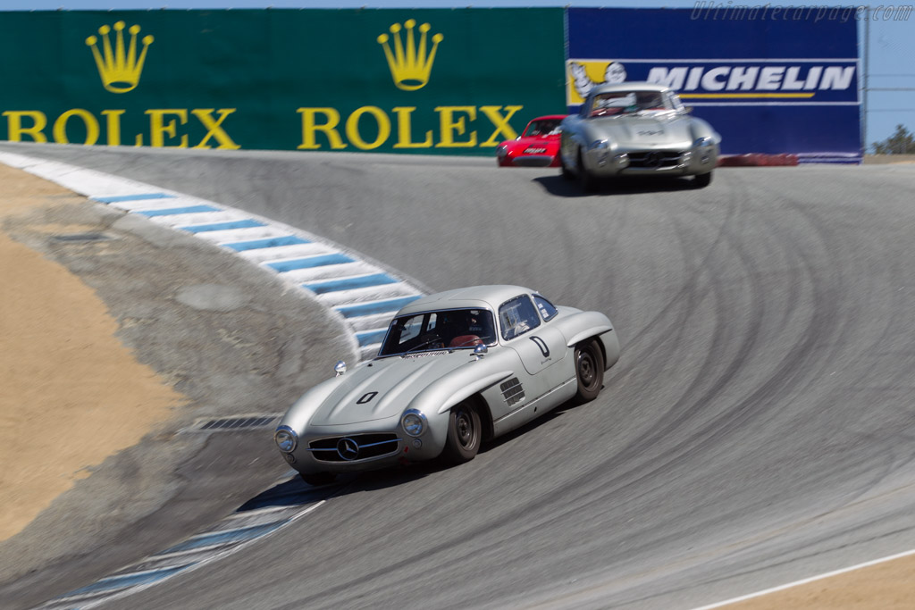 Mercedes-Benz 300 SL Gullwing Coupe - Chassis: 198.040.5500433 - Driver: Hans Kleissl  - 2015 Monterey Motorsports Reunion
