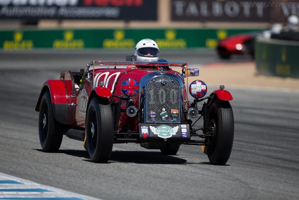 Morgan Plus 4 TT - Chassis: P2607 - Driver: Dennis Glavis  - 2015 Monterey Motorsports Reunion