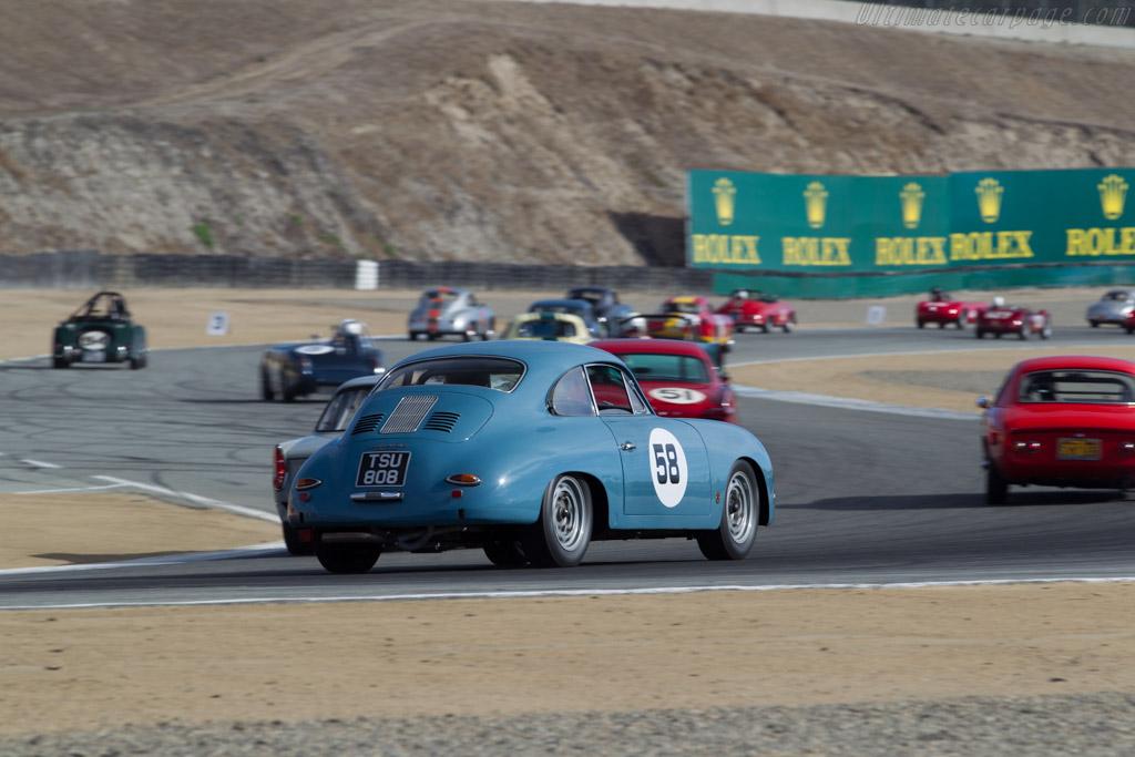 Porsche 356 Carrera GT - Chassis: 105558 - Driver: Michael Schweeney  - 2015 Monterey Motorsports Reunion