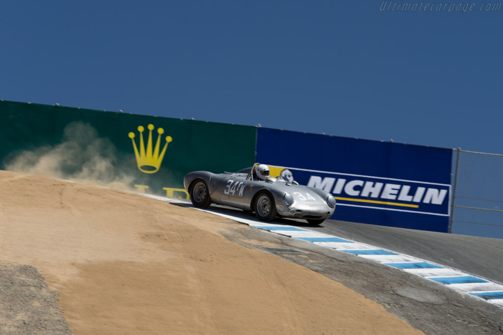 Porsche 550A - Chassis: 550A-0144 - Driver: Tom Trabue  - 2015 Monterey Motorsports Reunion