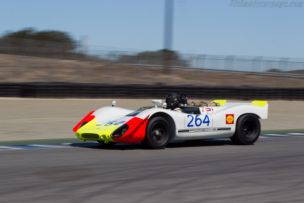 Porsche 908 02 Chassis 908 02 010 Driver Richard Griot 2015 Monterey Motorsports Reunion