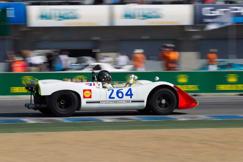 Porsche 908/02 - Chassis: 908/02-010 - Driver: Richard Griot  - 2015 Monterey Motorsports Reunion
