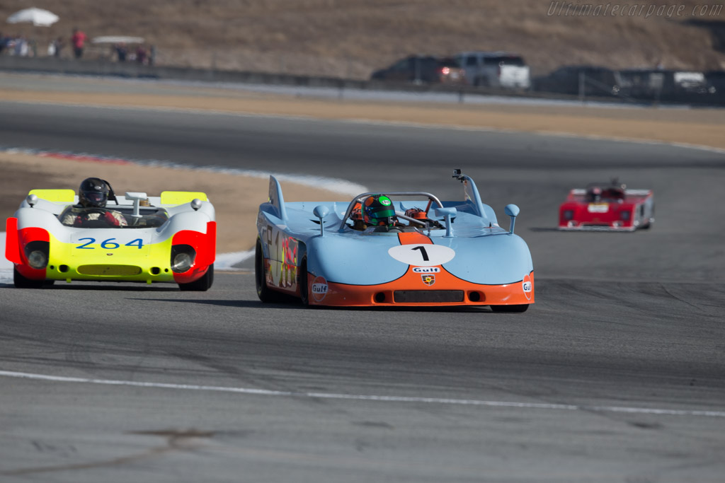 Porsche 908/03 - Chassis: 908/03-013 - Entrant: The Revs Institute - Driver: Gunnar Jeannette - 2015 Monterey Motorsports Reunion