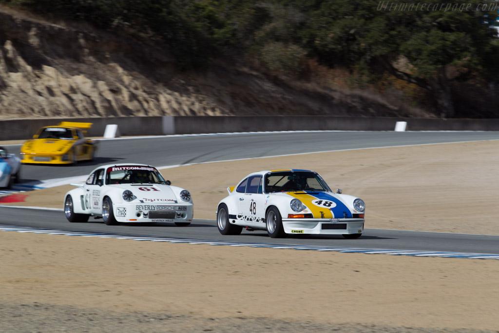 Porsche 911 Carrera RSR - Chassis: 911 230 0030 - Driver: Erich Joiner  - 2015 Monterey Motorsports Reunion