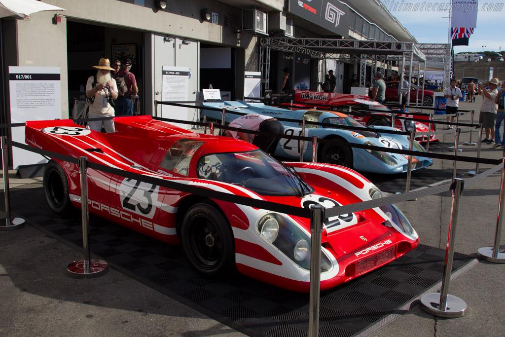 Porsche 917 K - Chassis: 917-001   - 2015 Monterey Motorsports Reunion