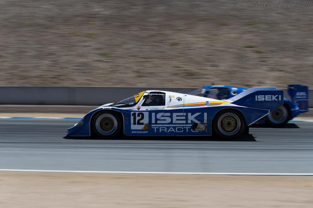 Porsche 956 - Chassis: 956-118 - Driver: Russell Kempnich  - 2015 Monterey Motorsports Reunion