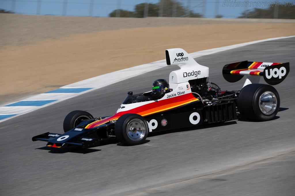 Shadow DN6 - Chassis: DN6-1A - Driver: Craig Bennett  - 2015 Monterey Motorsports Reunion