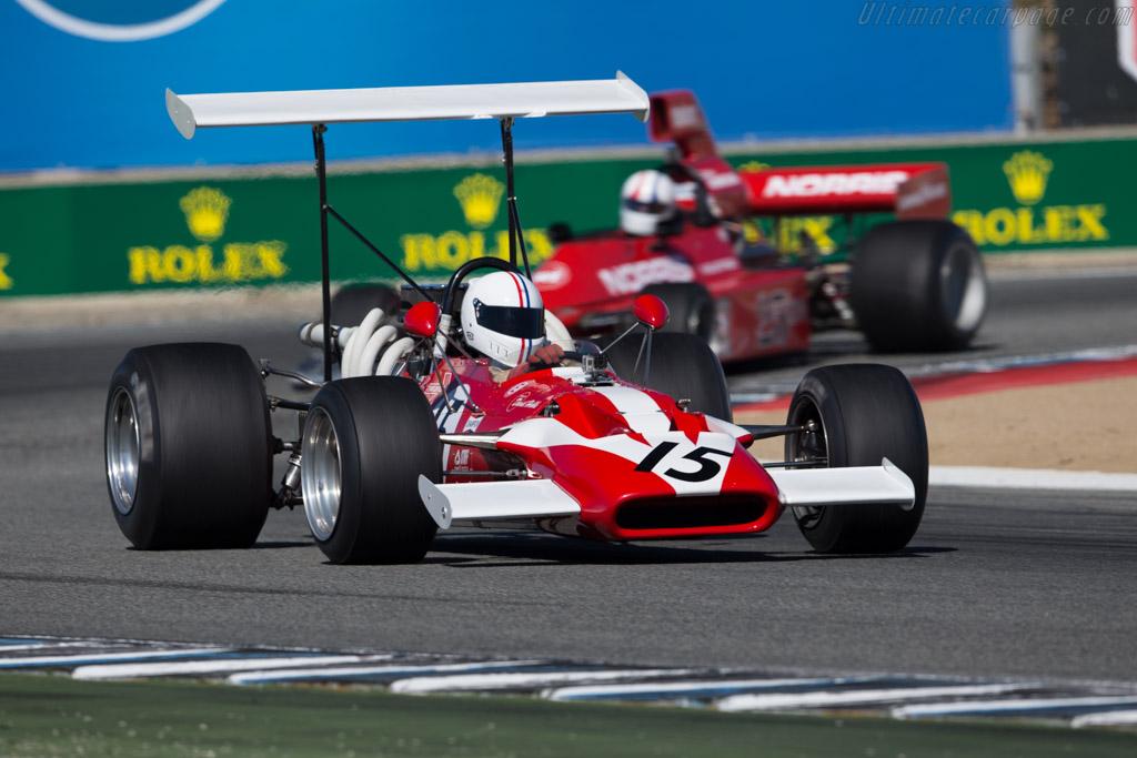 Surtees TS5 - Chassis: TS5-4 - Driver: Mark Harmer  - 2015 Monterey Motorsports Reunion