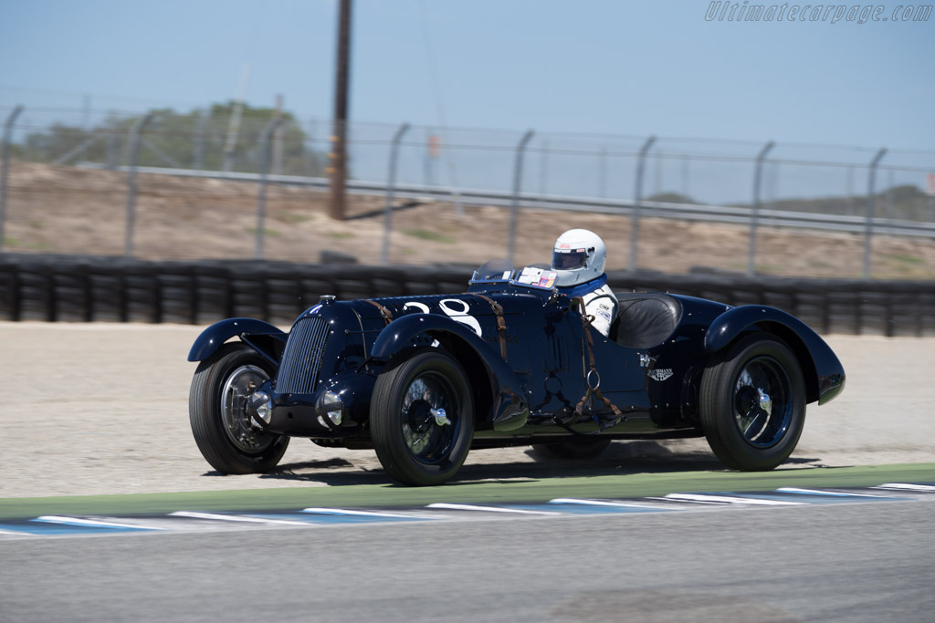 Talbot Lago T26 SS - Chassis: 90203 - Driver: Brian Mullin  - 2015 Monterey Motorsports Reunion