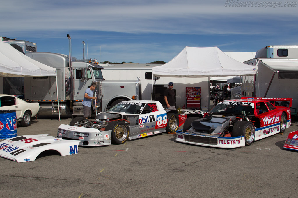 Trans-Am racers    - 2015 Monterey Motorsports Reunion