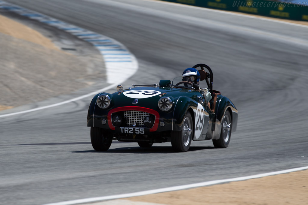 Triumph TR2 - Chassis: TS7241L - Driver: David Nelson  - 2015 Monterey Motorsports Reunion