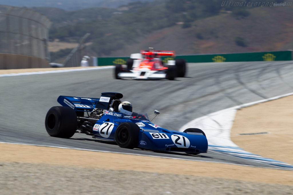 Tyrrell 004 - Chassis: 004 - Driver: John Dimmer  - 2015 Monterey Motorsports Reunion