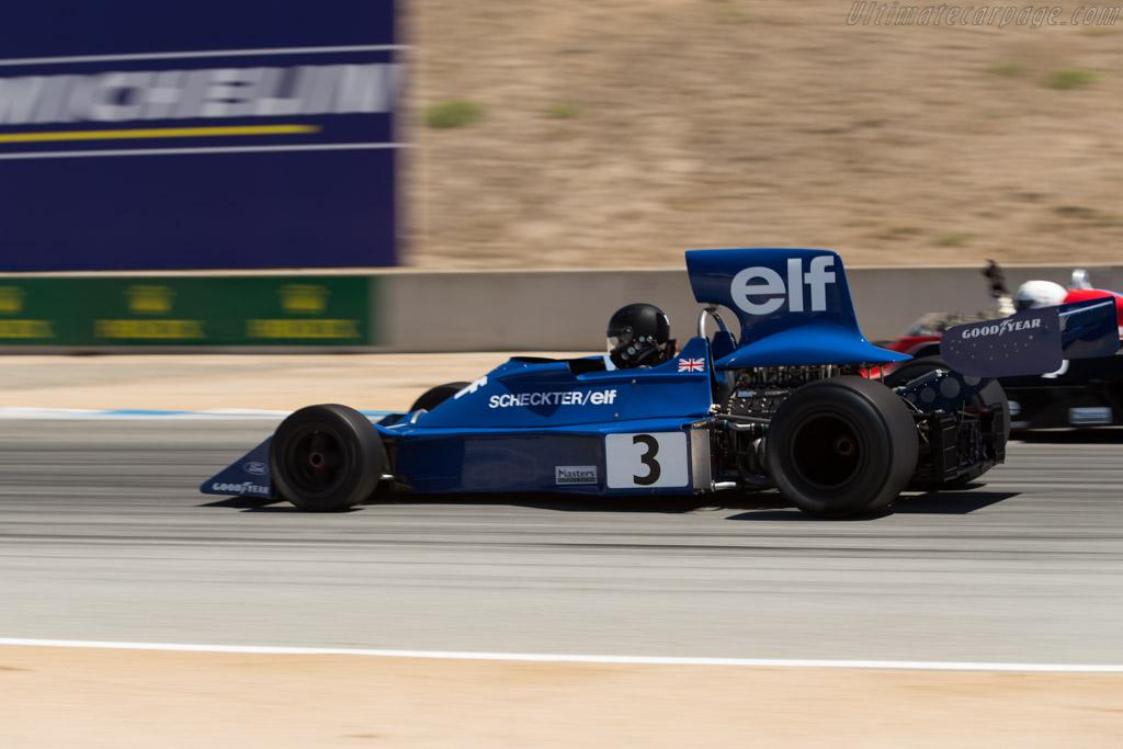 Tyrrell 007 - Chassis: 007/3 - Driver: Nicholas Colyvas  - 2015 Monterey Motorsports Reunion