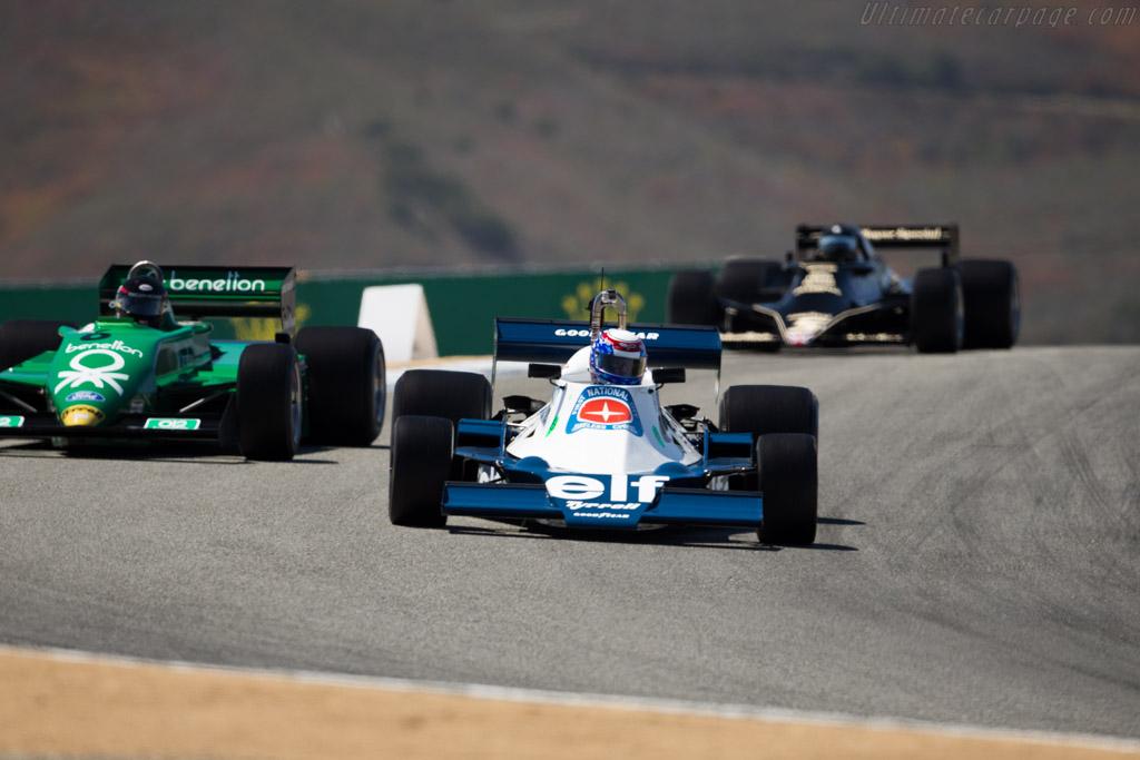 Tyrrell 008 - Chassis: 008/3 - Driver: John Goodman  - 2015 Monterey Motorsports Reunion