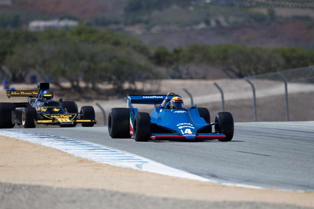 Tyrrell 009  - Driver: Mike Thurlow  - 2015 Monterey Motorsports Reunion