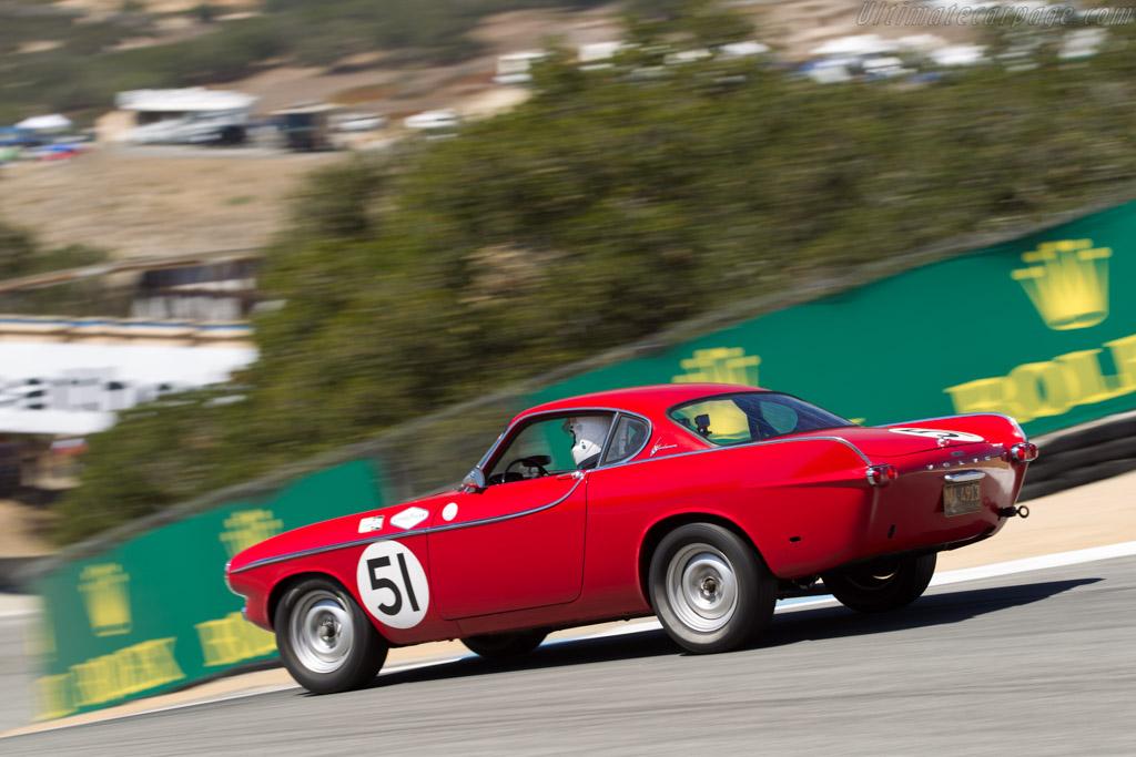 Volvo P1800 - Chassis: 14 - Driver: Rick Hayden  - 2015 Monterey Motorsports Reunion