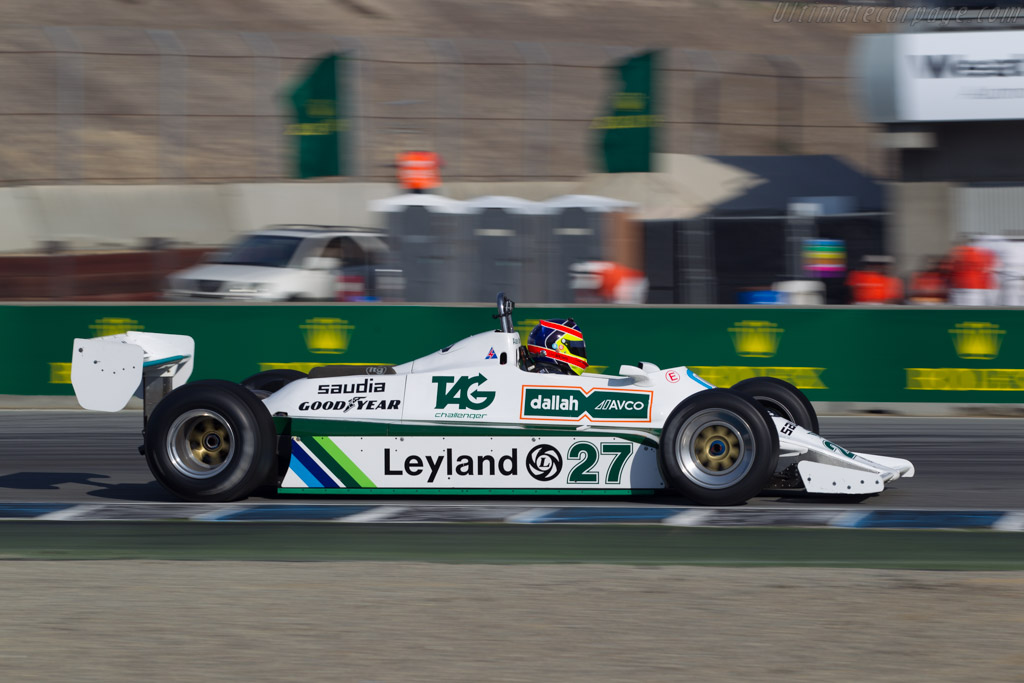 Williams FW07B - Chassis: FW07B/07 - Driver: Zak Brown  - 2015 Monterey Motorsports Reunion