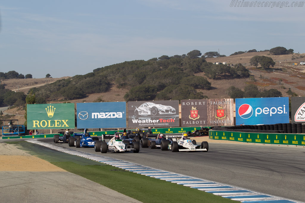 Williams FW07B - Chassis: FW07B/06 - Driver: Charles Nearburg  - 2015 Monterey Motorsports Reunion