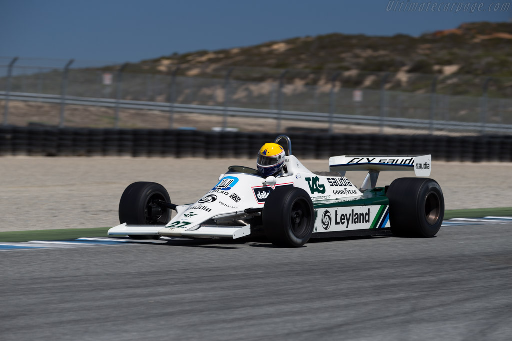Williams FW07B - Chassis: FW07B/06 - Driver: Charles Nearburg  - 2015 Monterey Motorsports Reunion