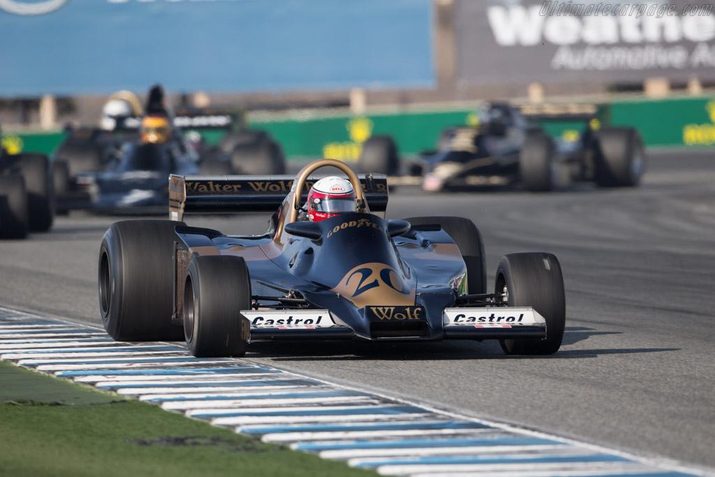 Wolf WR4 - Chassis: WR4 - Driver: Eddie Lawson  - 2015 Monterey Motorsports Reunion