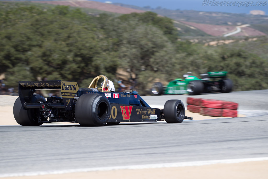 Wolf WR6 - Chassis: WR6 - Driver: Martin Lauber  - 2015 Monterey Motorsports Reunion