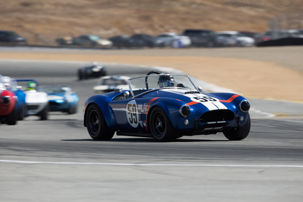 AC Shelby Cobra - Chassis: CSX2484 - Driver: Jim Bouzaglou  - 2017 Monterey Motorsports Reunion