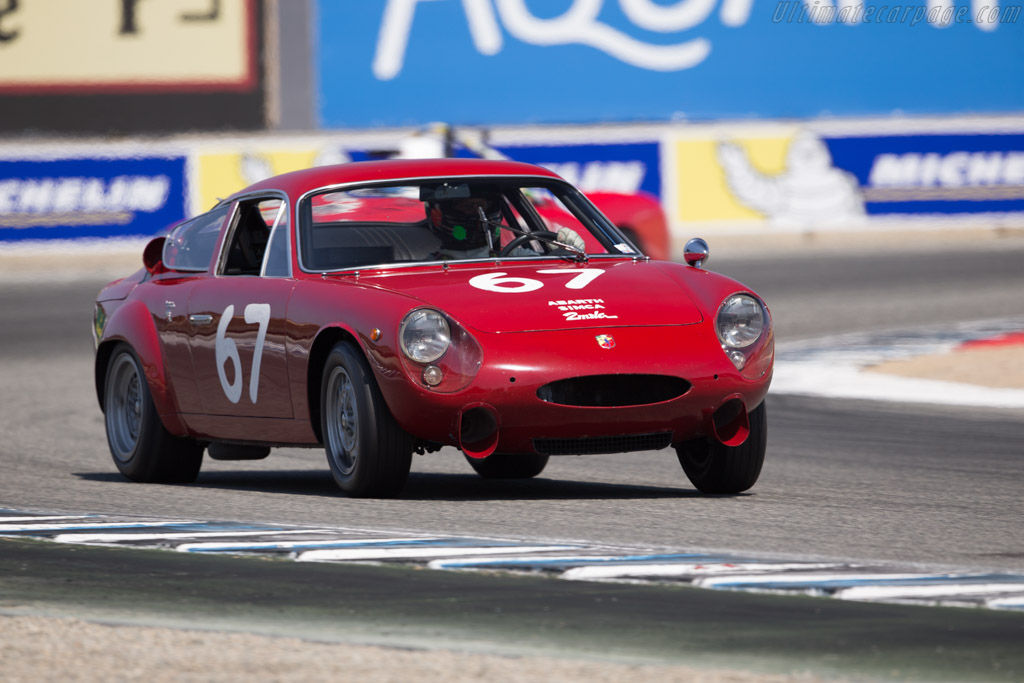 Abarth Simca 2 Mila Corsa - Chassis: 136 0067 - Entrant: The Revs Institute - Driver: Gunnar Jeannette  - 2017 Monterey Motorsports Reunion