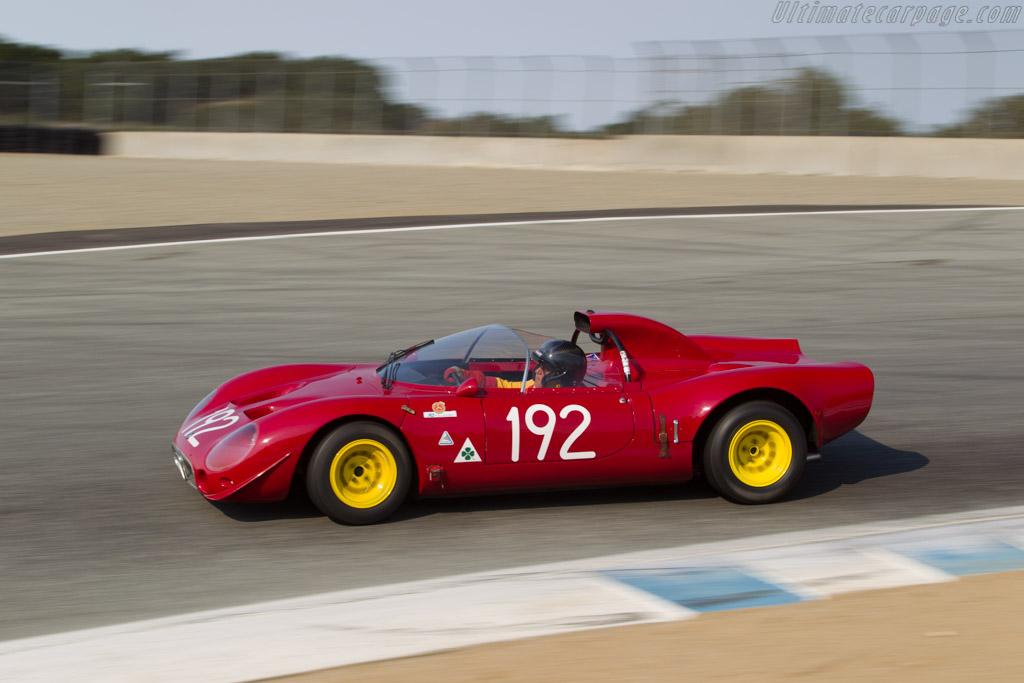 Car And Driver >> Alfa Romeo 33/2 - Chassis: 75033.002 - Driver: Joseph Nastase - 2017 Monterey Motorsports Reunion