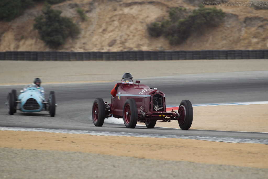Alfa Romeo 8C 2300 Monza - Chassis: 2111037 - Driver: Peter Giddings  - 2017 Monterey Motorsports Reunion