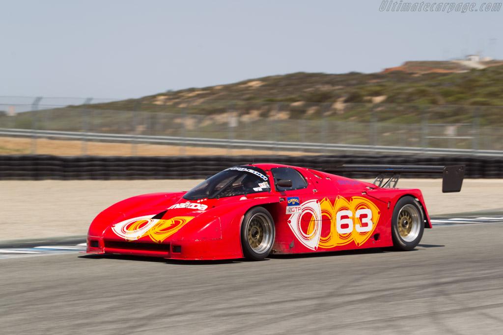 Argo JM19 Mazda - Chassis: JM19-107-GTP - Driver: Scott Spencer  - 2017 Monterey Motorsports Reunion