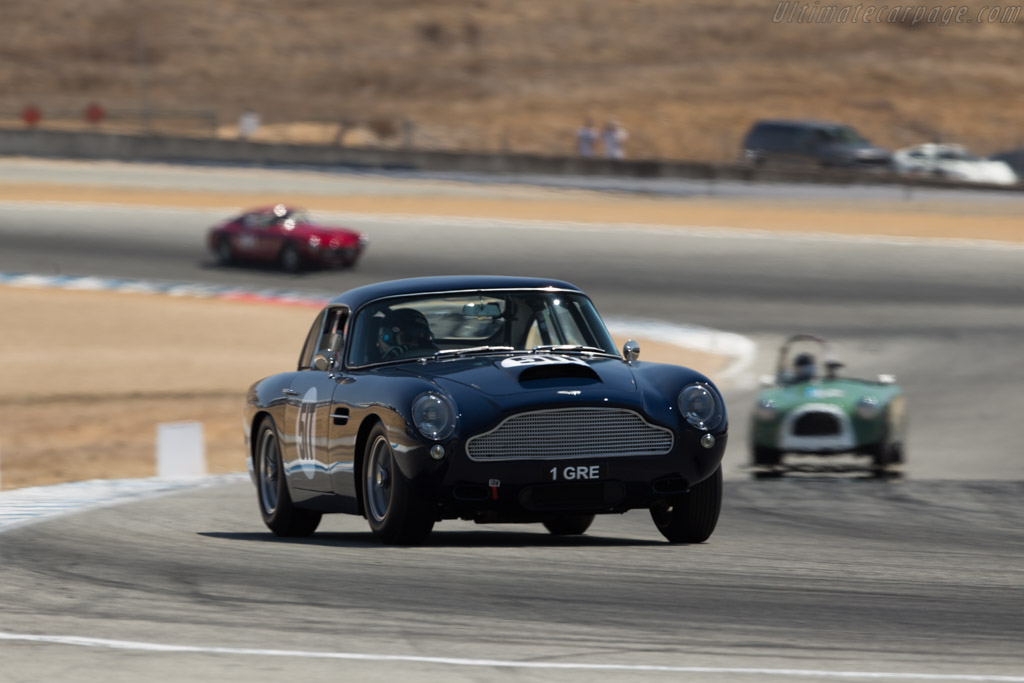 Aston Martin DB4 GT - Chassis: DB4GT/0149/L - Driver: Wolfgang Friedrichs  - 2017 Monterey Motorsports Reunion