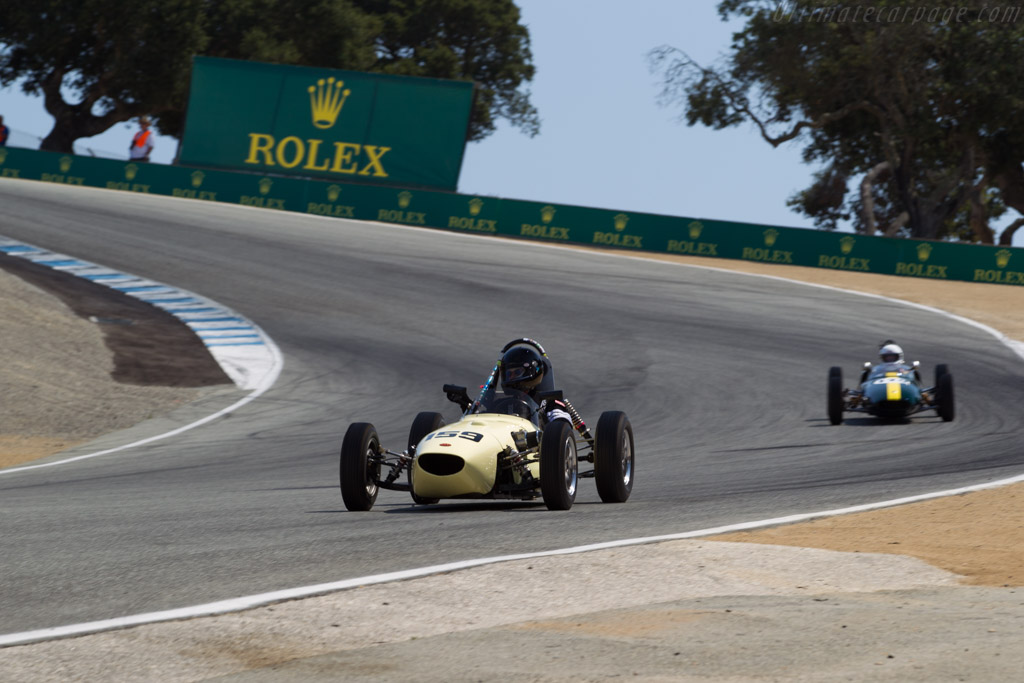 BMC Formula Junior - Chassis: 1-10 - Driver: Robert Merrill  - 2017 Monterey Motorsports Reunion