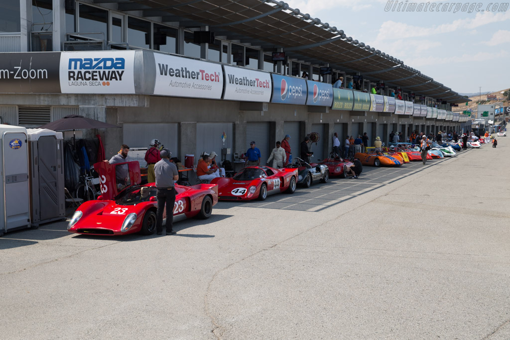 Chevron B16  - Driver: Bob Kullas  - 2017 Monterey Motorsports Reunion