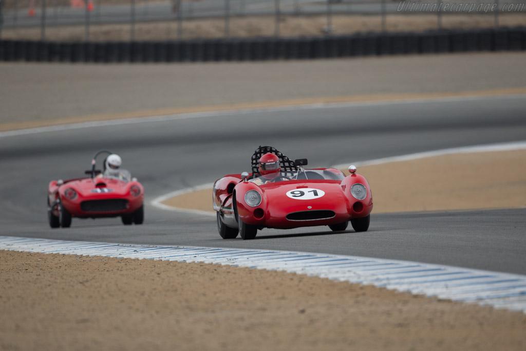 Cooper Monaco Ferrari - Chassis: CM/5/62 - Driver: Fred Burke  - 2017 Monterey Motorsports Reunion