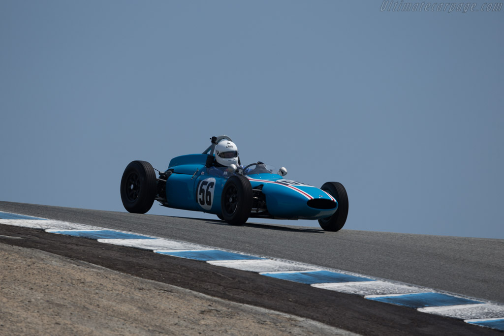 Cooper T56 - Chassis: FJ/21/61 - Driver: Jeremy Deeley  - 2017 Monterey Motorsports Reunion