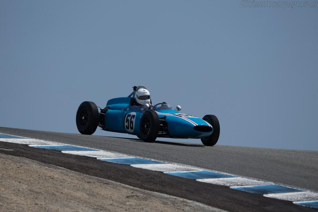 Cooper T56 - Chassis: FJ/21/61 - Driver: Jeremy Deeley  - 2017 Monterey Motorsports Reunion