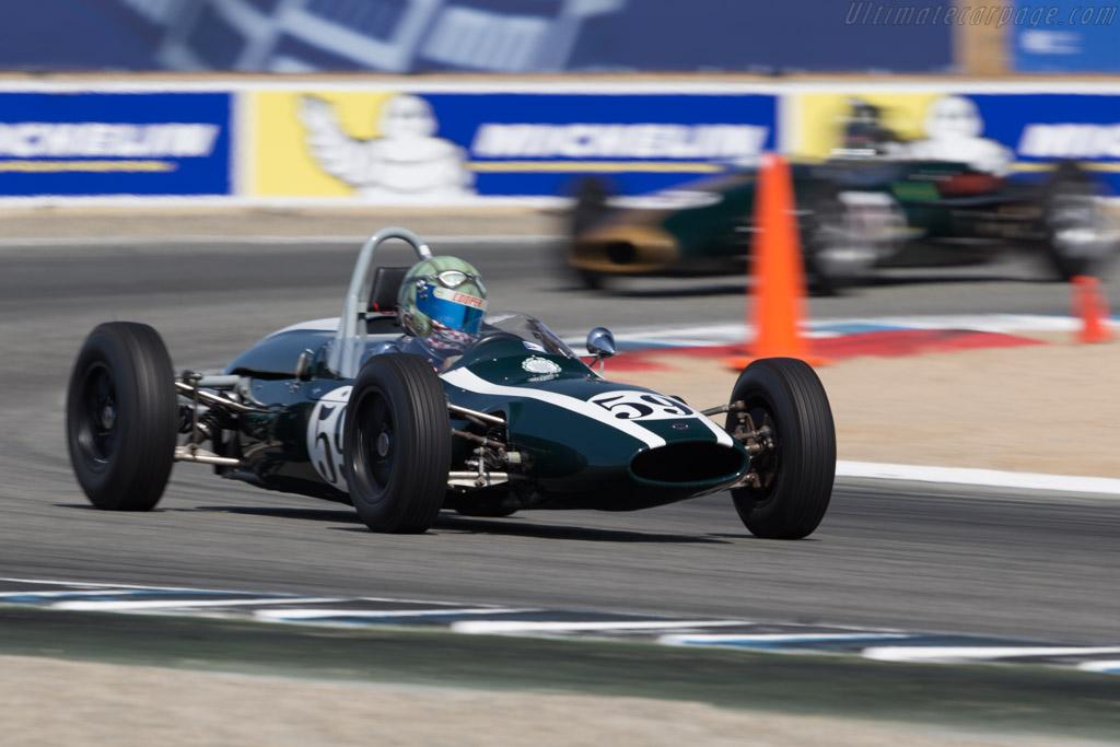 Cooper T59 - Chassis: FJ/35/62 - Driver: Jimmy Domingos  - 2017 Monterey Motorsports Reunion