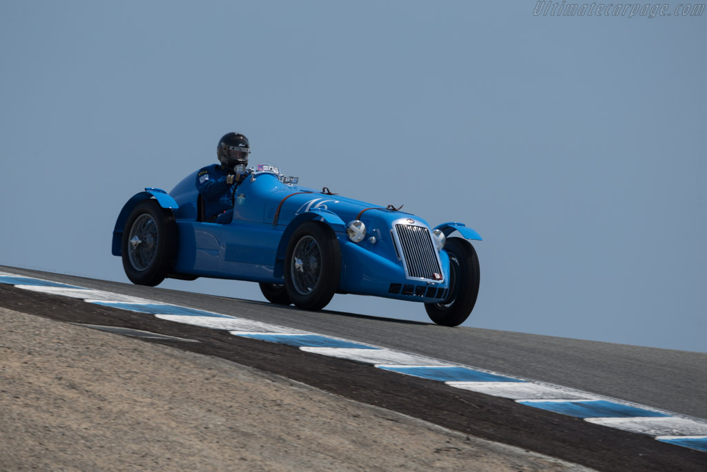 Delage D6 Grand Prix - Chassis: 880004 - Driver: Timothy Mullin  - 2017 Monterey Motorsports Reunion