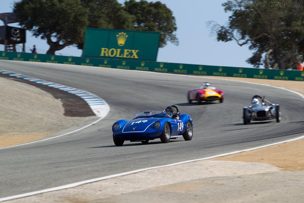 Devin Porsche - Chassis: DD1-4 - Driver: Leonard Turnbeaugh  - 2017 Monterey Motorsports Reunion