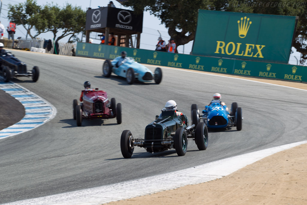 ERA A-Type - Chassis: R2A - Driver: Paddins Dowling  - 2017 Monterey Motorsports Reunion
