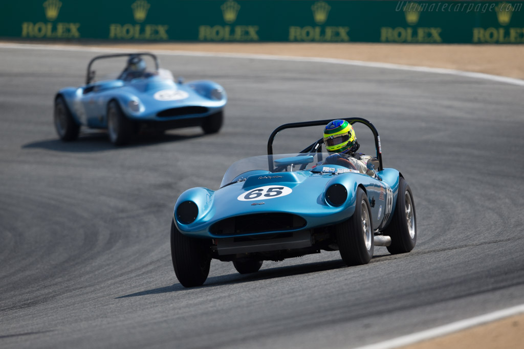 Echidna Special - Chassis: 02 - Entrant: Jere Clark - Driver: Rick Knoop  - 2017 Monterey Motorsports Reunion