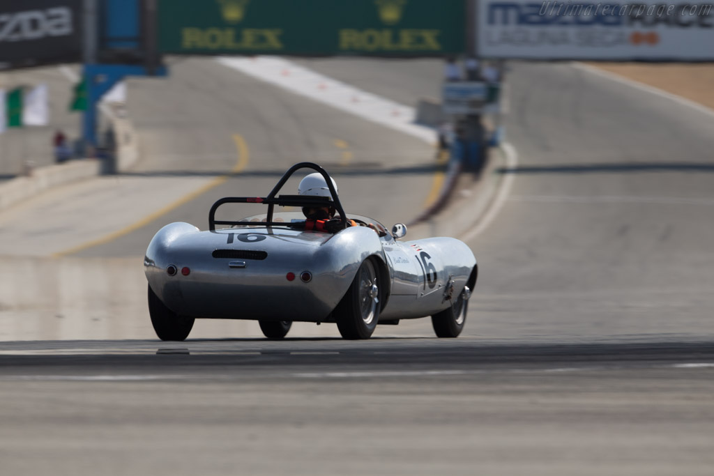 Elva Mk II - Chassis: 100/27 - Driver: Robert Engberg  - 2017 Monterey Motorsports Reunion