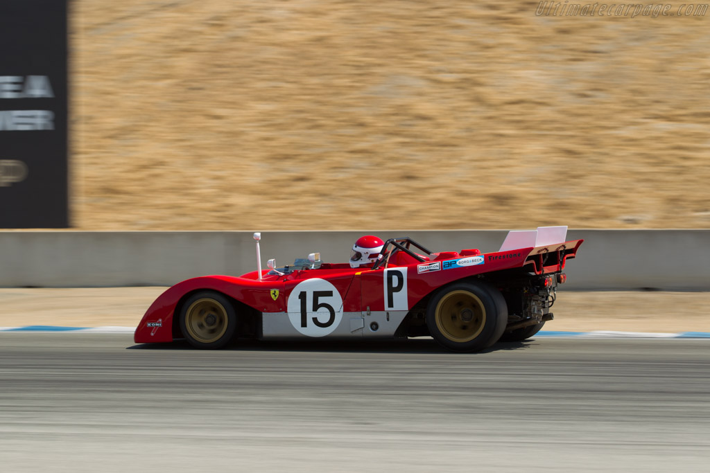Ferrari 312 PB - Chassis: 0880 - Driver: Ernie Prisbe  - 2017 Monterey Motorsports Reunion