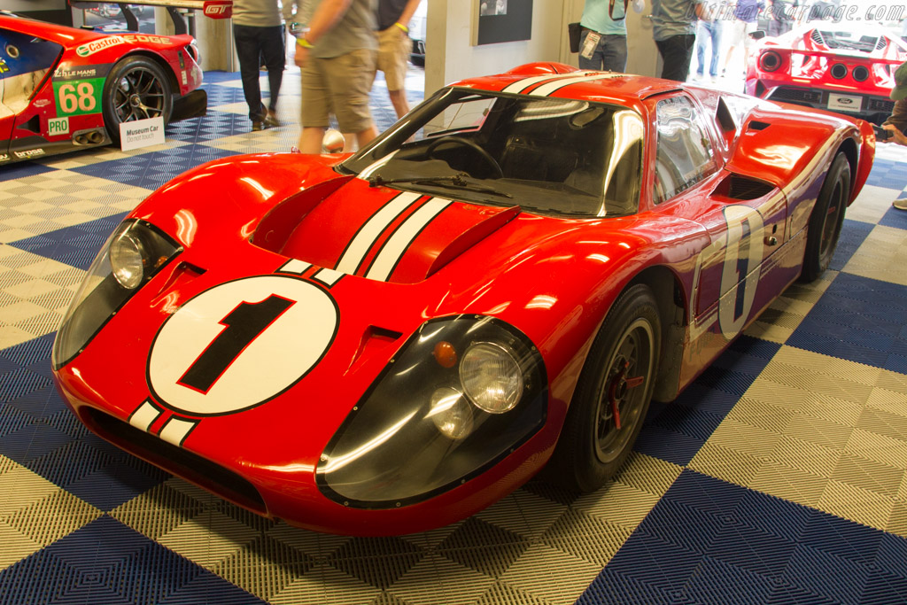 Ford GT Mk IV - Chassis: J-6   - 2017 Monterey Motorsports Reunion