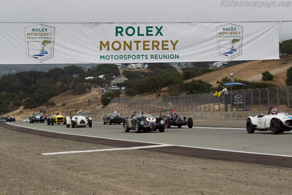 Jaguar C-Type - Chassis: XKC 053 - Driver: Dyke Ridgley  - 2017 Monterey Motorsports Reunion