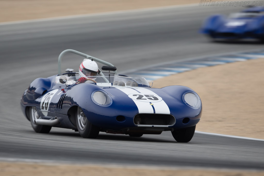 Lister Costin Chevrolet - Chassis: BHL 132 - Driver: Erickson Shirley  - 2017 Monterey Motorsports Reunion