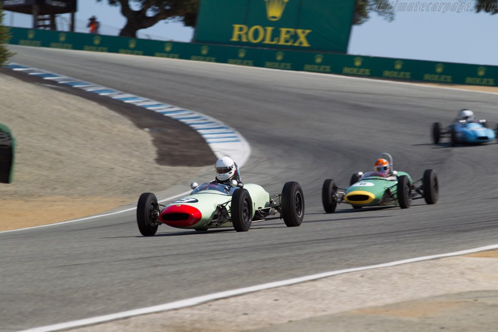 Lotus 22 - Chassis: 22-FJ-17 - Driver: Carl Moore  - 2017 Monterey Motorsports Reunion