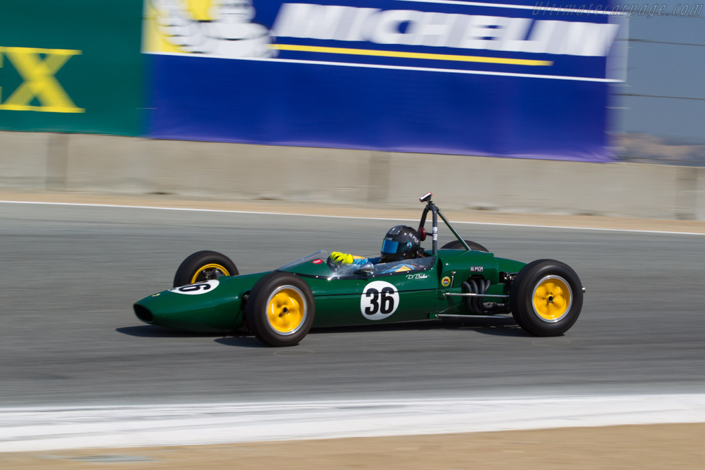 Lotus 27 - Chassis: 27 FM 36 - Driver: Danny Baker  - 2017 Monterey Motorsports Reunion