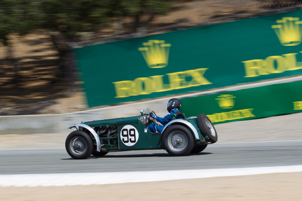 MG NA Magnette - Chassis: 0476 - Driver: Leif Jacobsen  - 2017 Monterey Motorsports Reunion